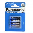 Batterie Panasonic Plus (4) R3 AAA Blister